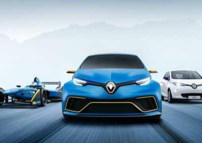 Renault Zoe E-Sport concept electric vehicle