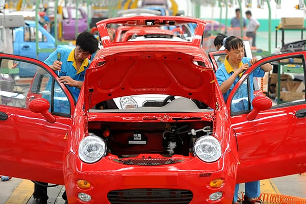 How successful is the Chinese New Energy Vehicles Program?