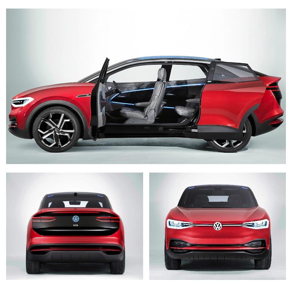 SEE THE VW I.D. CROZZ IN LA - DUE 2020 IN USA
