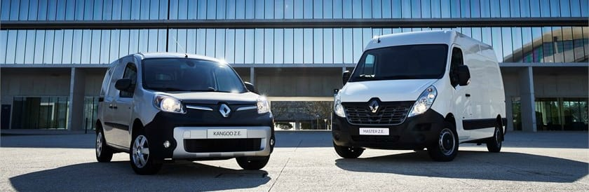 2018 – Renault Master Z.E. tests drive and electric LCV range in Lisboa Top 5 EV news week 23