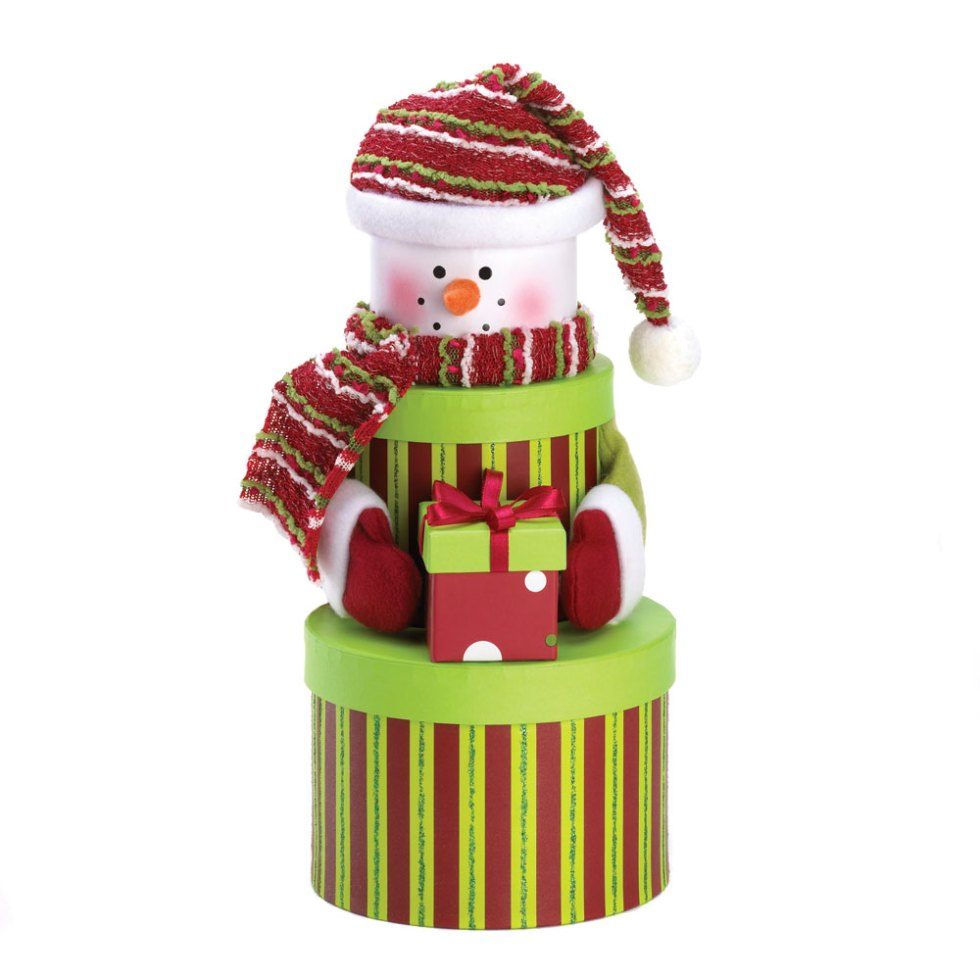 Wholesale Snowman Tiered Gift Boxes - Buy Wholesale Snowmen