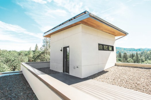 Image result for roof material to decrease the temperature of the house in Corvallis, Oregon.