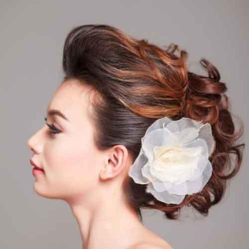 Sidebeep Hairdo Sanggul
