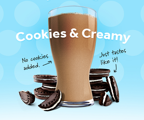 Cookies & Creamy Shakeology