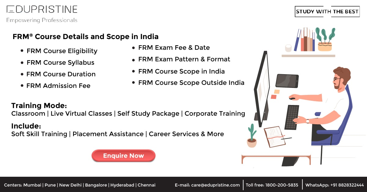 FRM Course Details and Scope in India