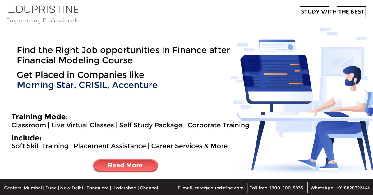 Financial Modeling Course Job Opportunities