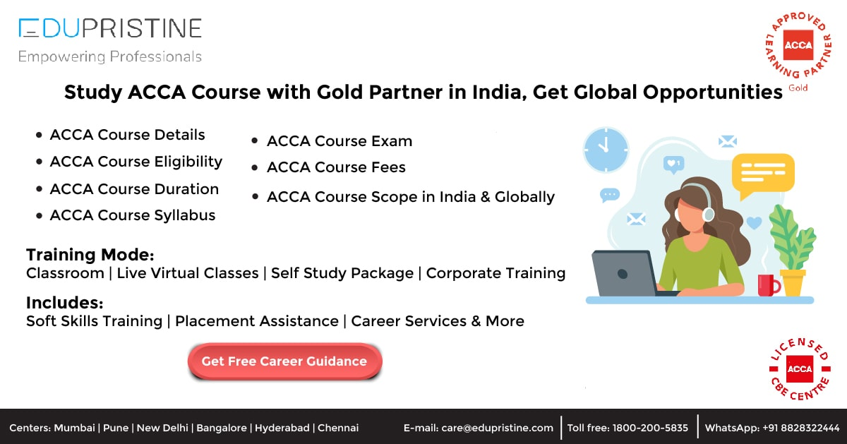 Study ACCA Course with Gold Partner in India, Get Global Opportunities