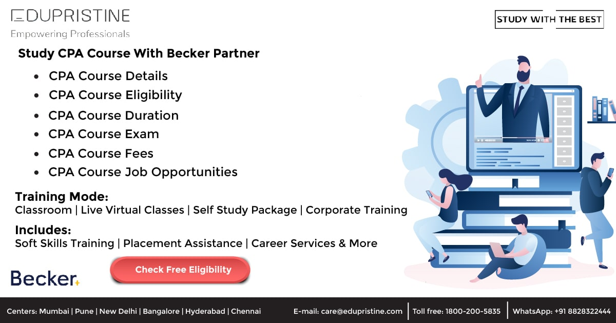Study CPA Course With Becker Partner