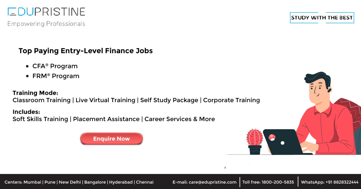 Top Paying Entry-Level Finance Jobs in [2021-2022]