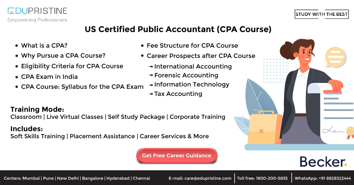 US Certified Public Accountant (CPA Course)