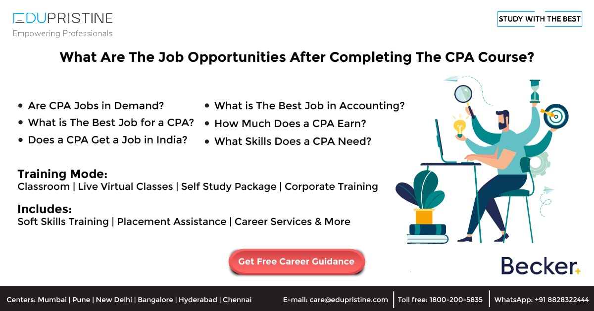 What Are The Job Opportunities After Completing CPA Qualification?