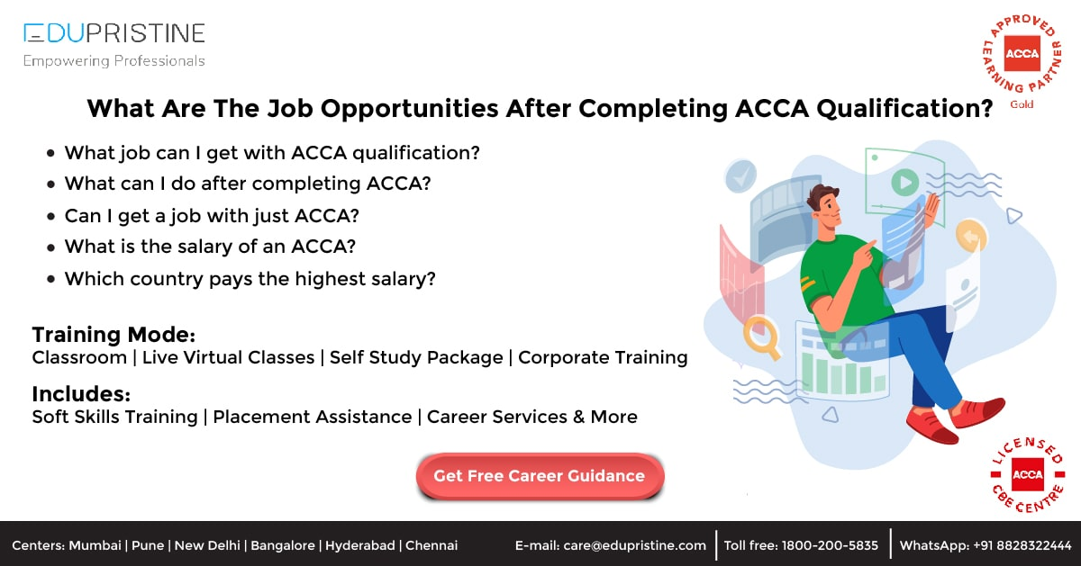 What Are The Job Opportunities After Completing ACCA Qualification?