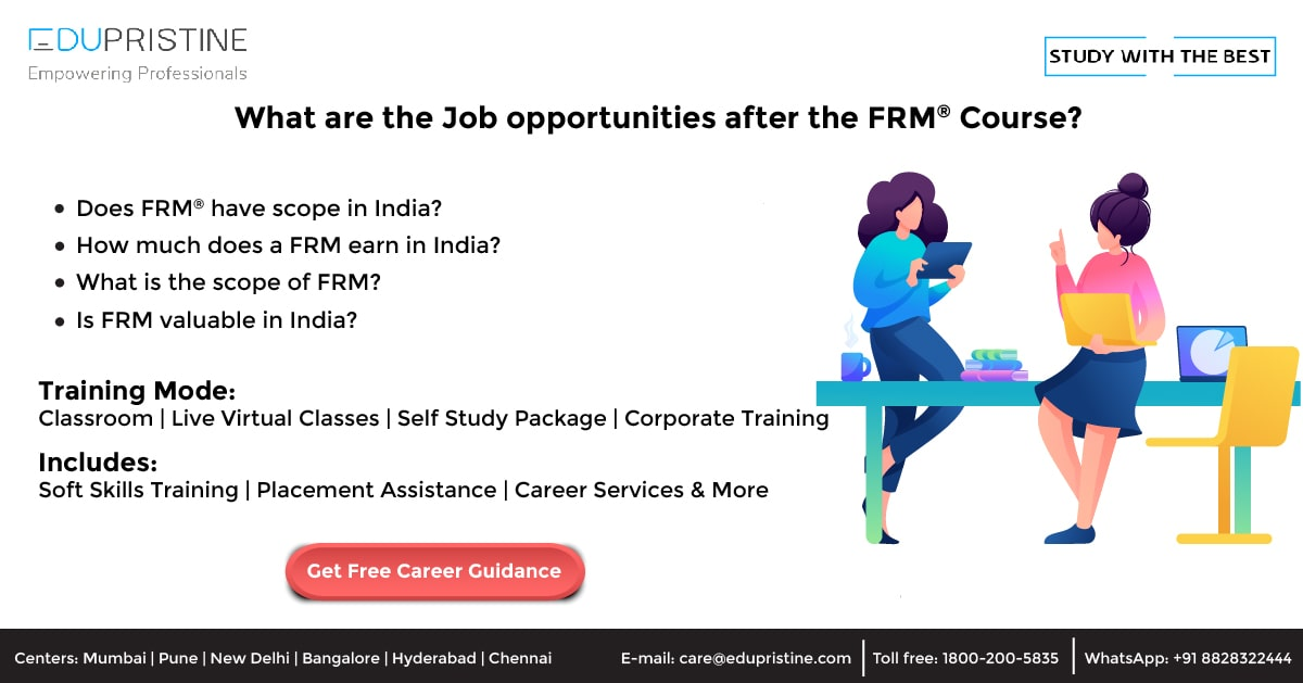 What Are The Job Opportunities After Doing The FRM Course?
