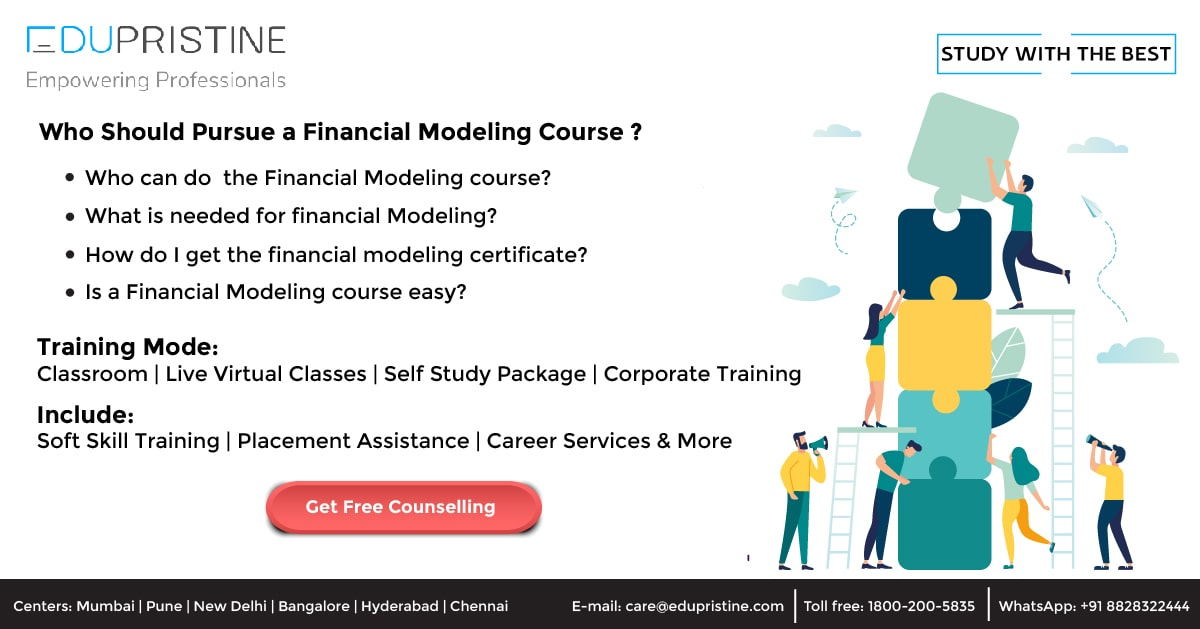 Who Should Pursue a Financial Modeling Course?