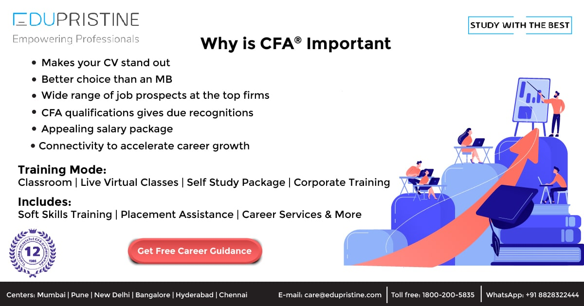 Why is CFA Important