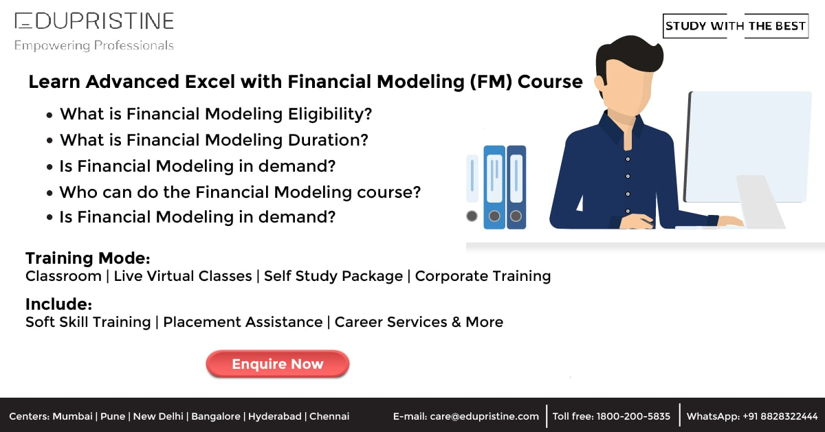 Financial Modeling Course Scope