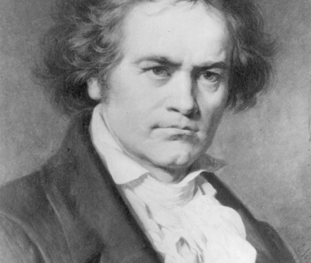 Portrait Of Beethoven By Karl Jager
