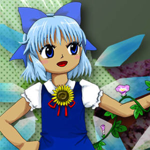 Touhou 16  Cirno with a Tan