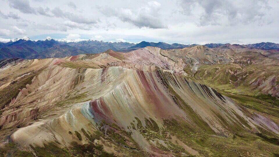 Montanhas Coloridas da América do Sul - Palcoyo