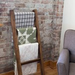 Diy Quilt Rack How To Make A Blanket Ladder Or Holder