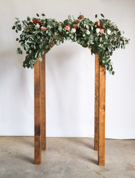 How to Make an Arch for Your Wedding Dunn DIY How to Make a Wedding Arch Seattle WA 18