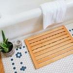 Diy Wooden Bath Mat Shower Mat