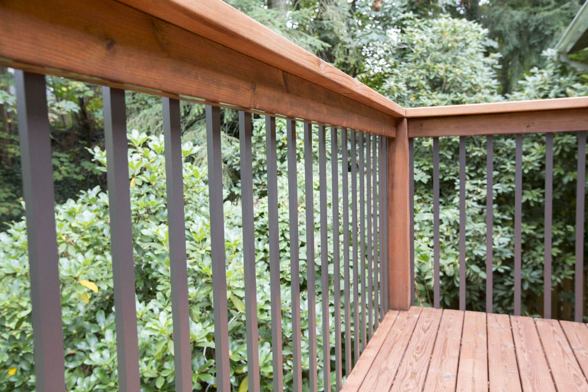 Installing Deck Railing Aluminum Balusters For Deck Dunn Lumber   Installing Wood Balusters On An Angle   Stair Parts   Stair Spindles   Banister   Knee Wall   Handrails