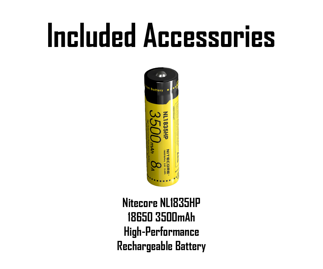 Nitecore Mh12gts Lm Long Throw Rechargeable Flashlight