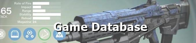 Destiny 2 Legendary Weapons