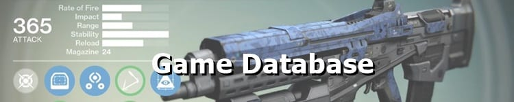Destiny 2 Weapons Directory