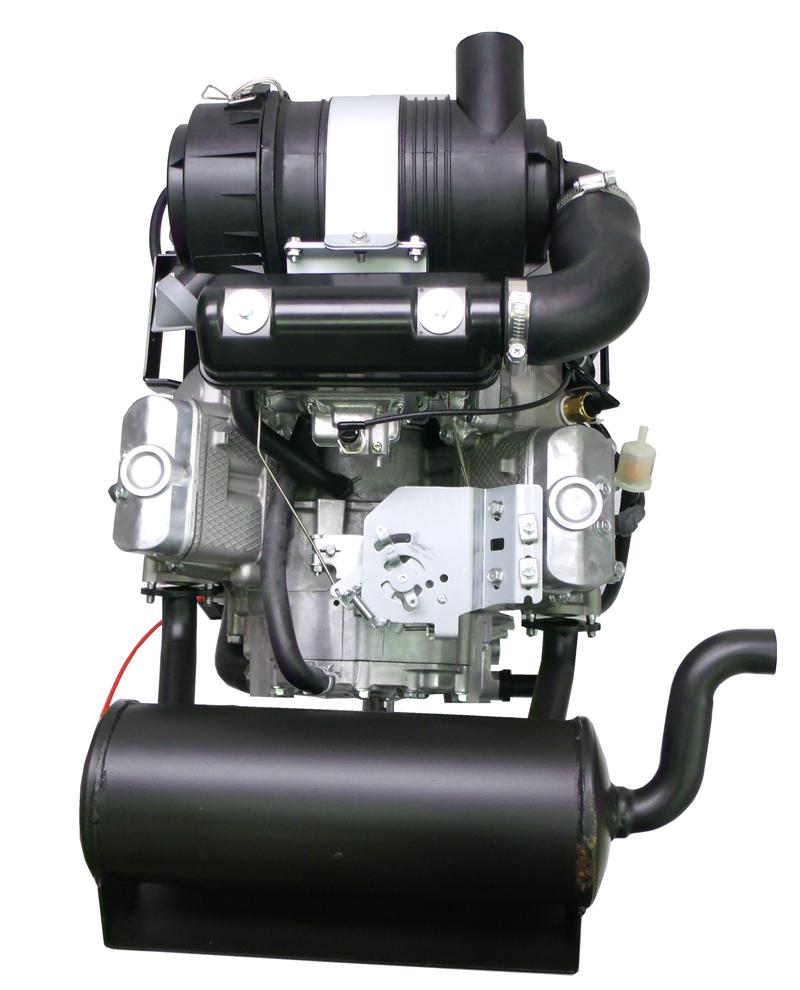 Kawasaki Parts Muffler For 26hp Fd731v Vertical Ka Muffler 20