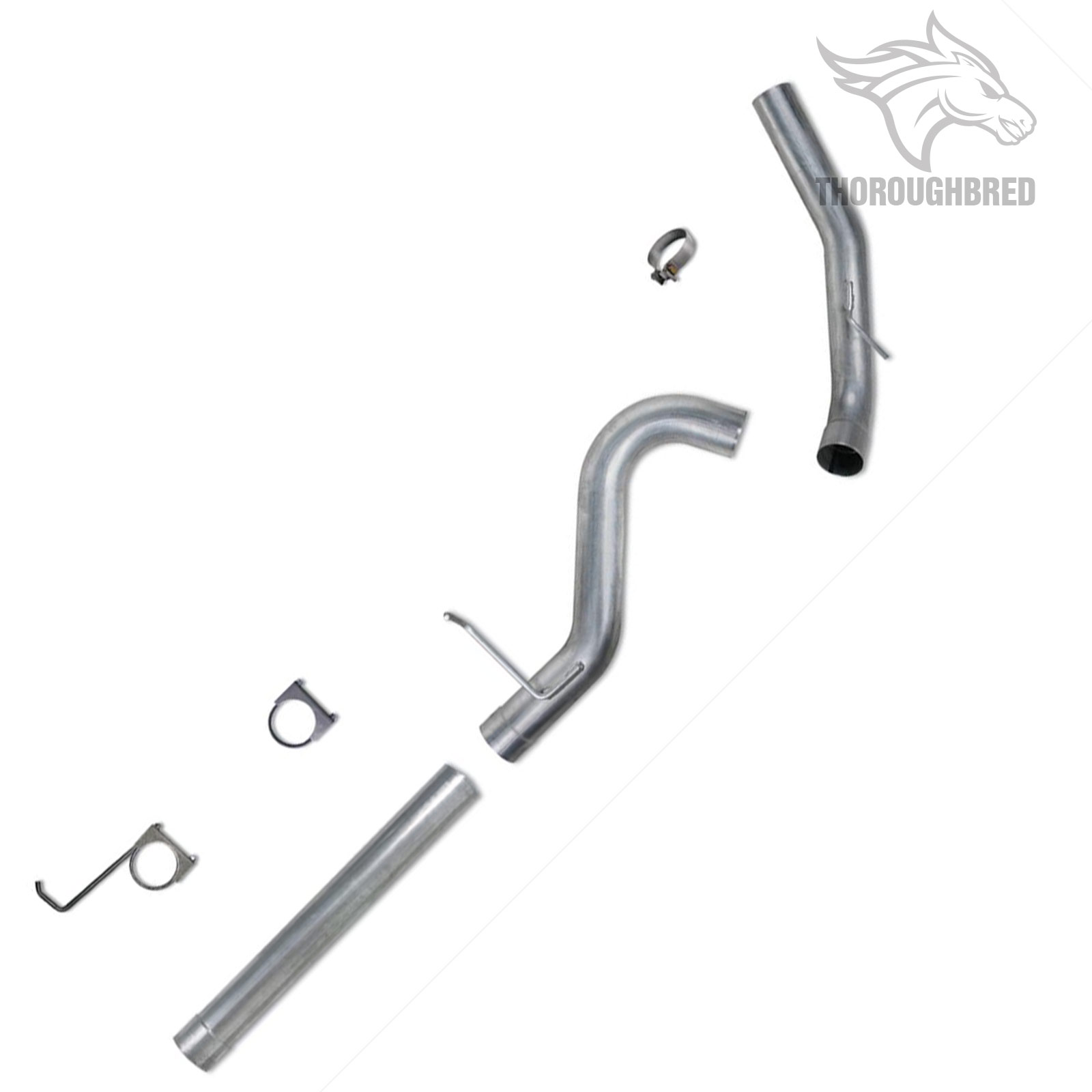 Diamond Eye 4 Aluminized Filter Back Exhaust For 11 15