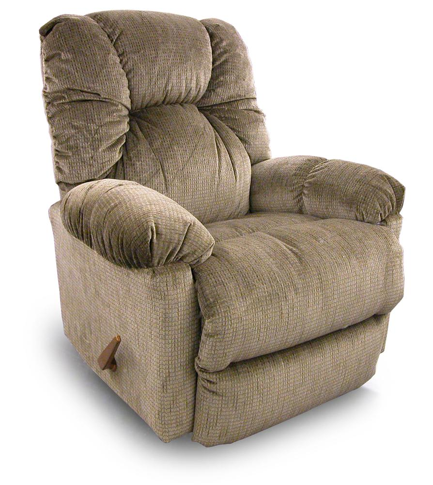 Romulus Swivel Rocking Reclining Chair By Best Home