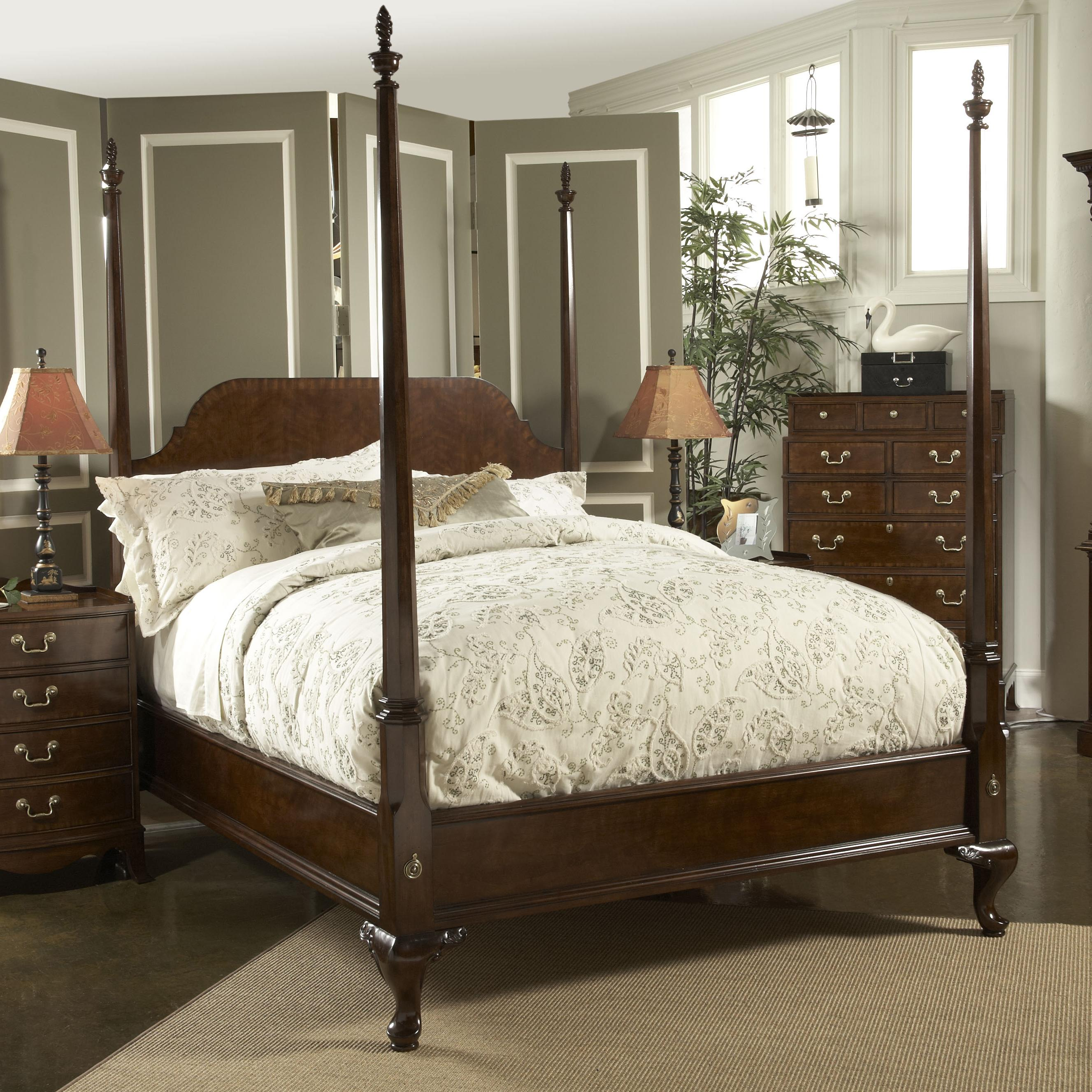 King Size Bed With Tall Posts