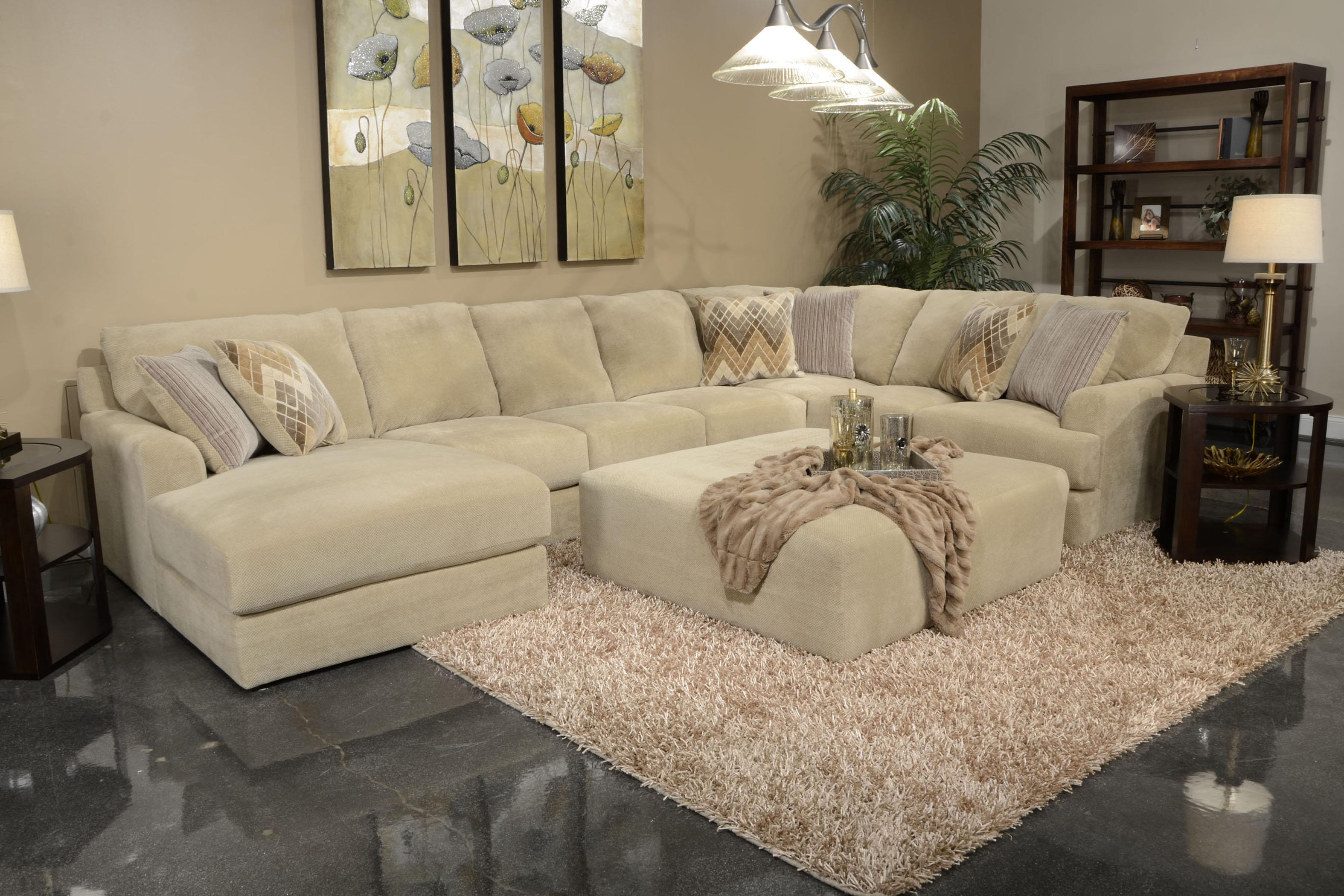 Six Seat Sectional Sofa By Jackson Furniture Wolf And