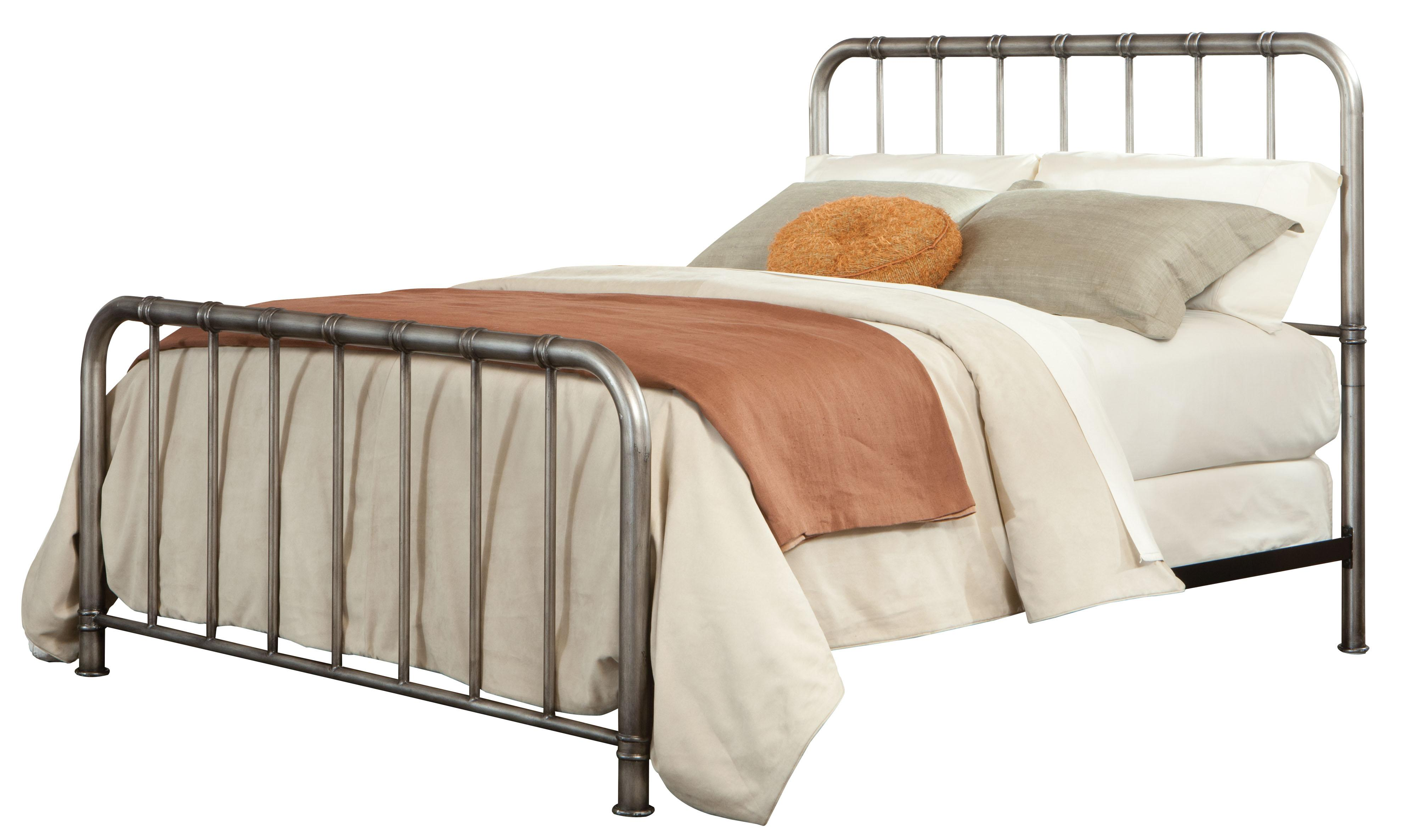 Queen Metal Bed With Tubular Steel By Standard Furniture