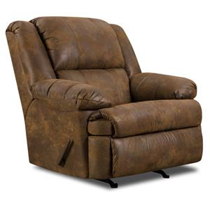 Simmons Upholstery 678 Chocolate Heat Amp Massage Recliner
