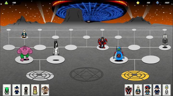 Game Board: Alilen Planet