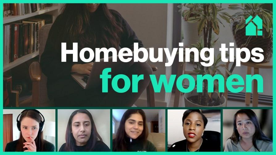 a group of women on a webinar panel