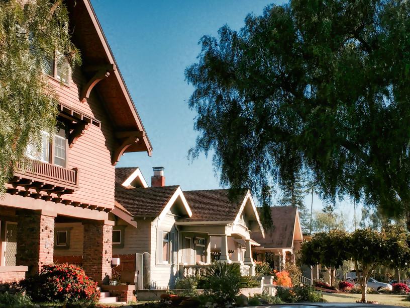 A neighborhood in San Diego