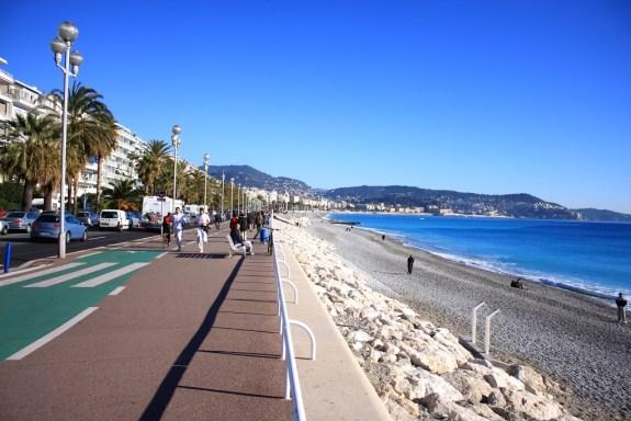 Promenade des Anglais Nice France
