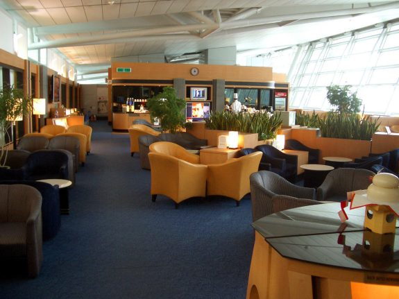 Purchasing a lounge pass can be good value if you have a long stopover