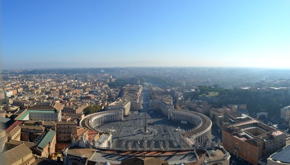 This view from St. Peter's Basilica will not disappoint, surely one of the best things to see in Rome