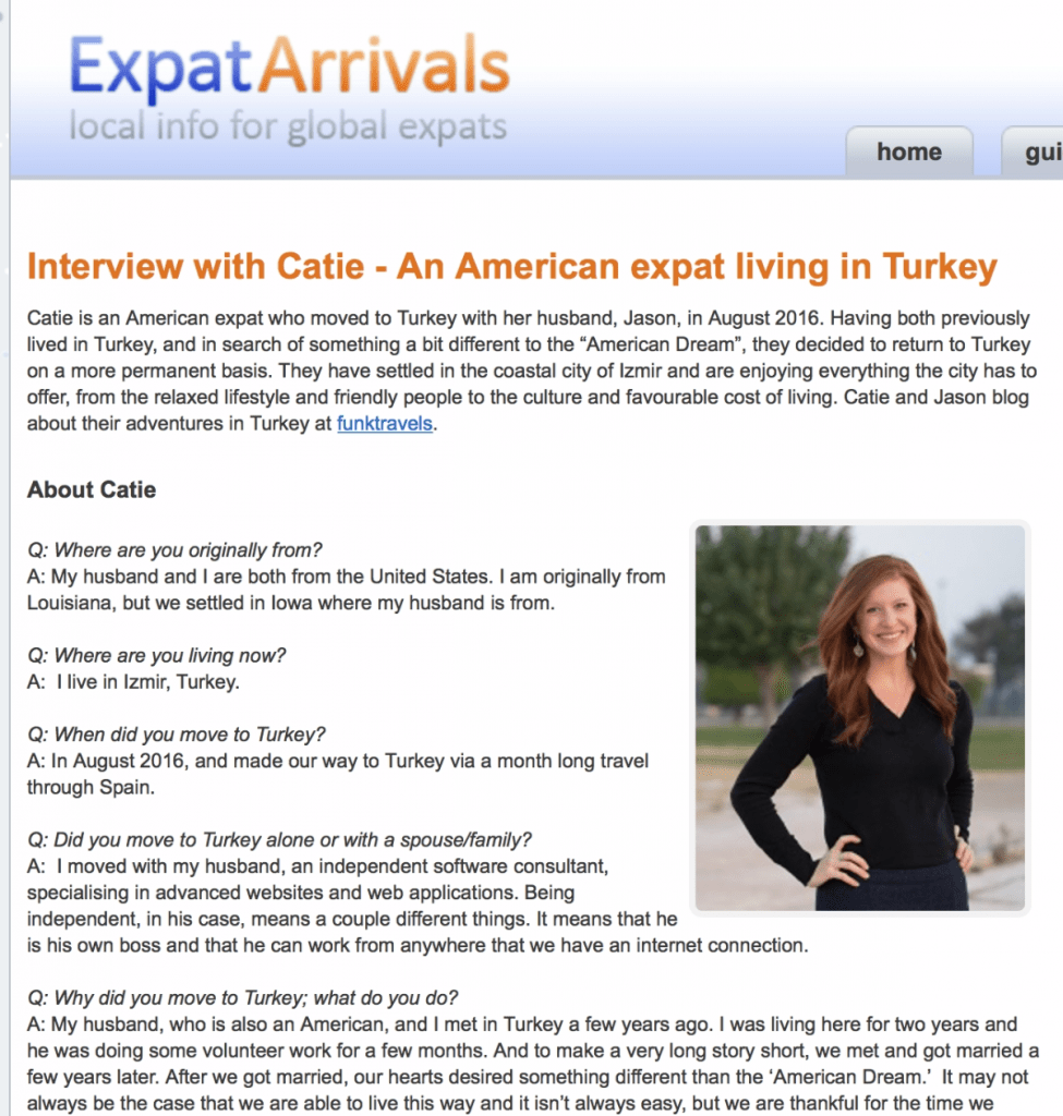 expatarrivals Interview FunkTravels