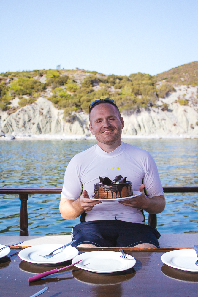 2017 Catie FunkTravels Izmir Turkey Deniz Boat Day