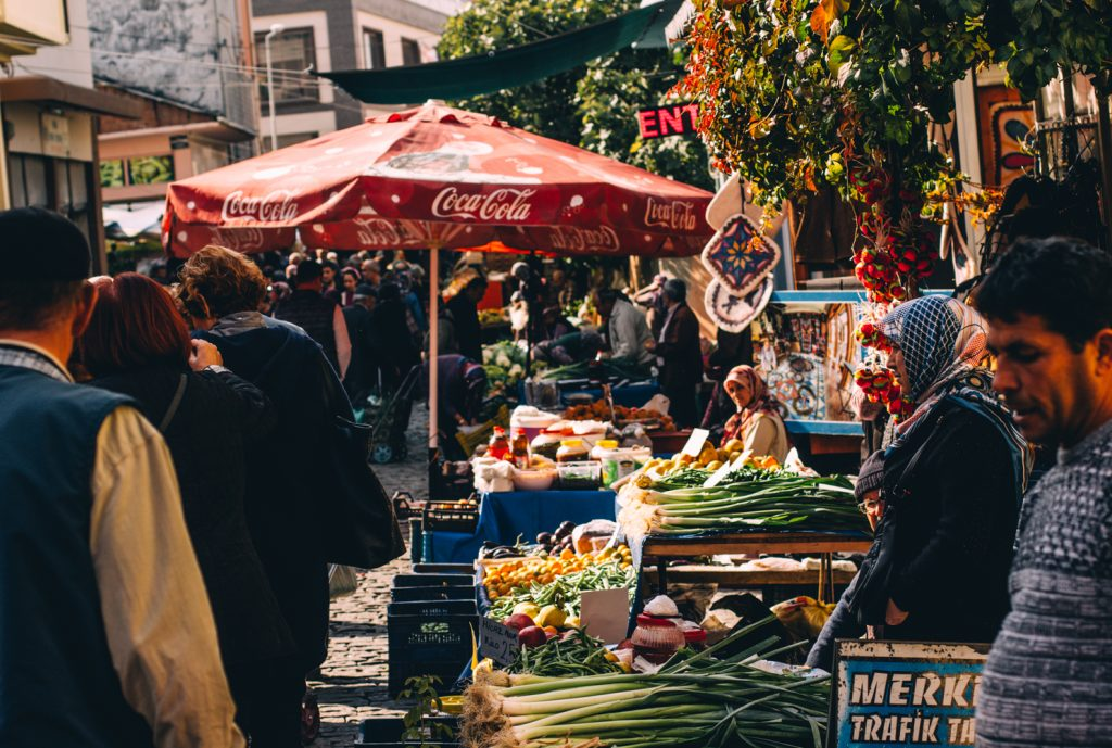 Catie FunkTravels Turkey Tire Tuesday Market