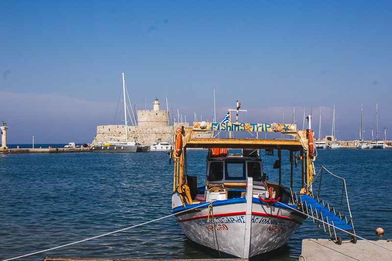 Rhodes Greece Rodos Greek Island