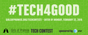 WFA's Girls of Promise® Tech Contest sponsored by AT&T is designed to help girls hone tech, research, and communication skills while doing something good for the world (and entering to win some cool prizes). // girlsofpromise.org/techcontest/