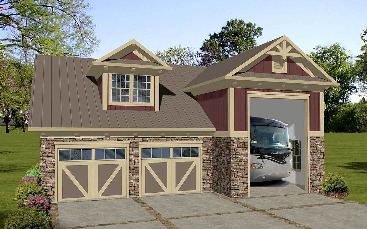 Carriage House Apartment With RV Garage