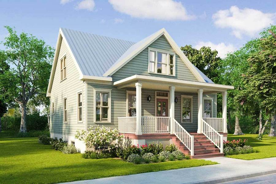 Narrow Lot House Plans   Architectural Designs Narrow Lot House Plans